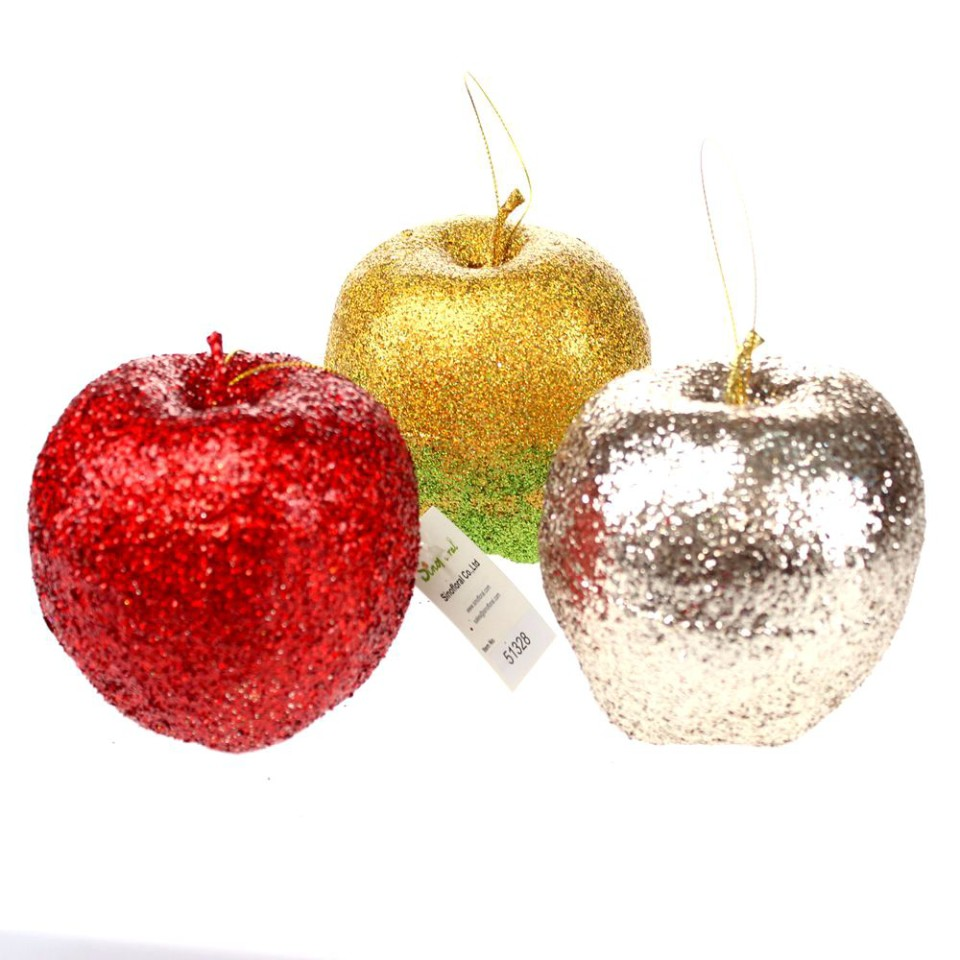 Christmas ornaments wholesale from china for Apple tree decoration