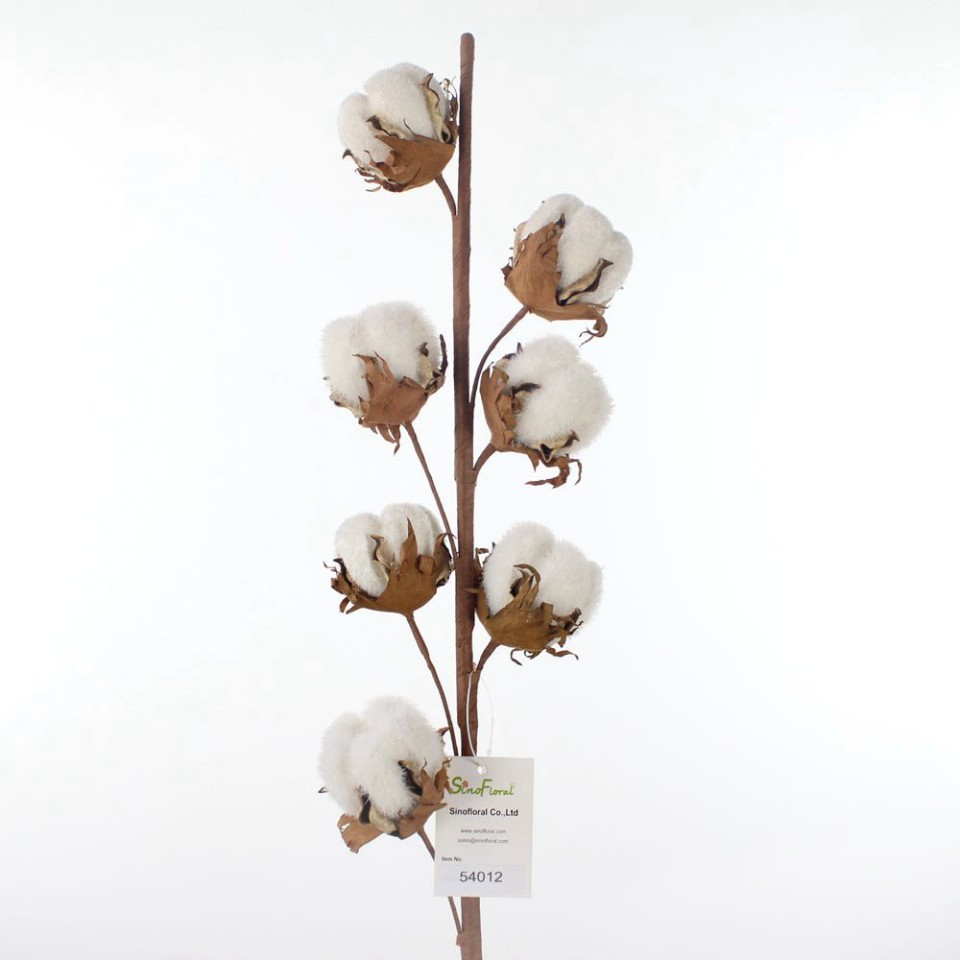 Faux Cotton Stems Wholesale From China At Unbeatable Price