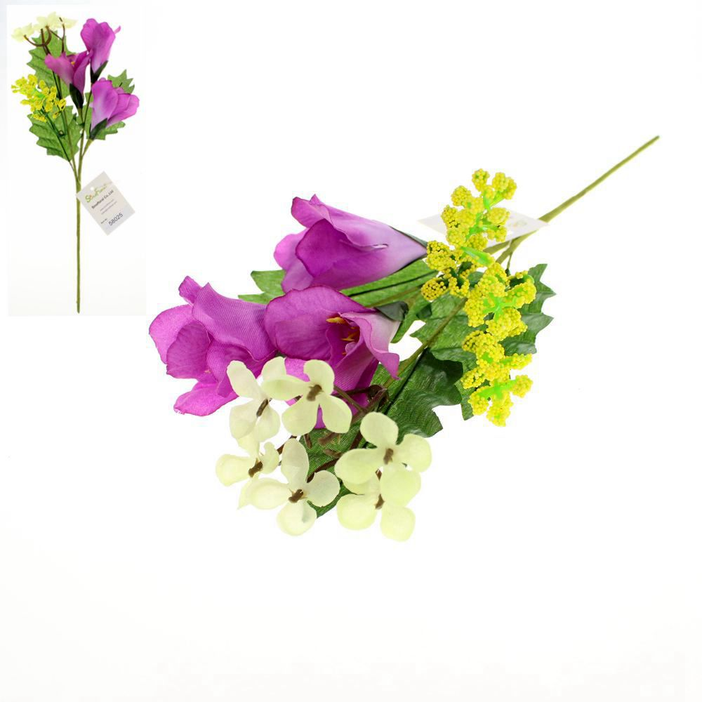 Silk floral craft for Fake flowers for crafts