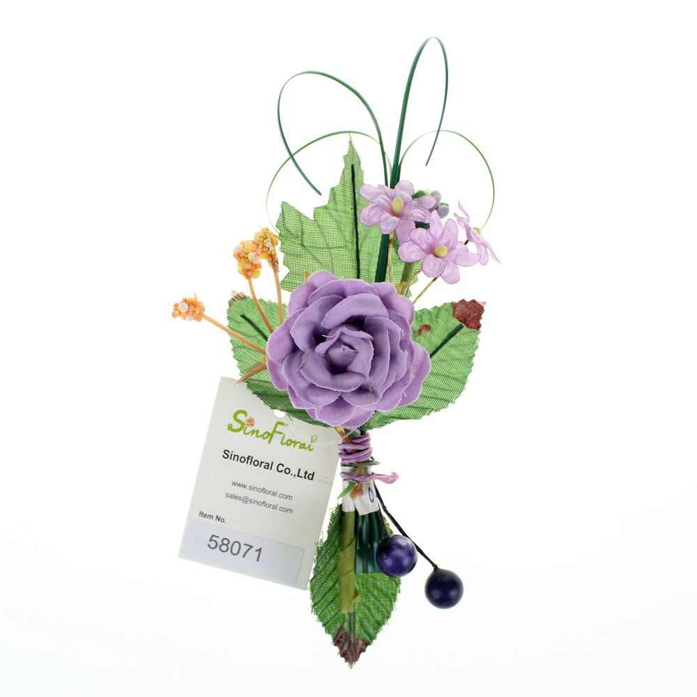 Artificial craft flowers for Fake flowers for crafts