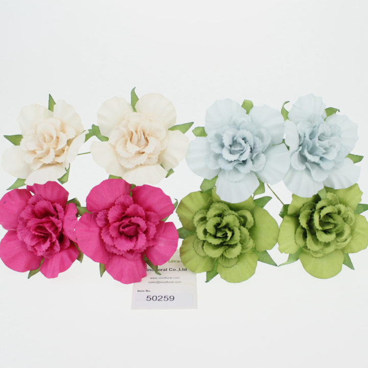 Mulberry paper flowers wholesale scrapbooking paper flowers wholesale 6cm 50259 mightylinksfo