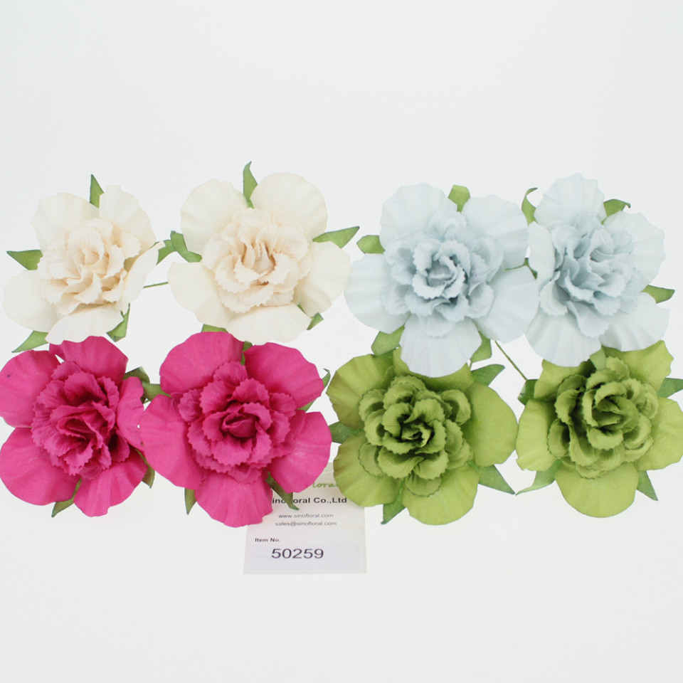 Mulberry paper flowers wholesale for scrapbooking scrapbooking paper flowers wholesale 6cm 50259 mightylinksfo