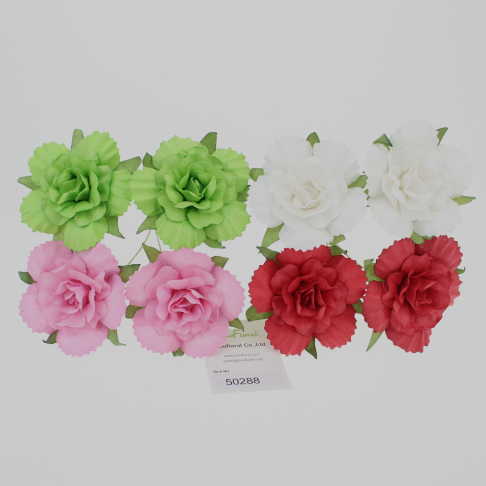 Mulberry paper flowers wholesale for scrapbooking craft paper flowers wholesale 50288 jeuxipadfo Gallery