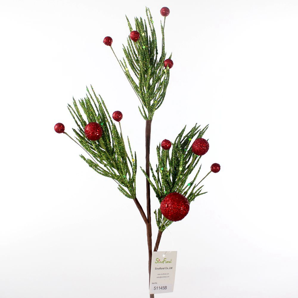 Christmas Berry Tree Hawaii: Christmas Glitter Berry Spray