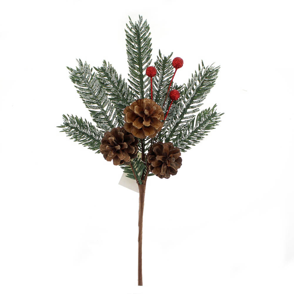 Christmas Pine Cone Picks
