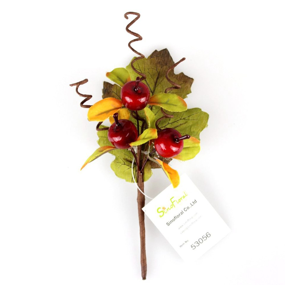 mini christmas berry picks supplier 17cm 53056