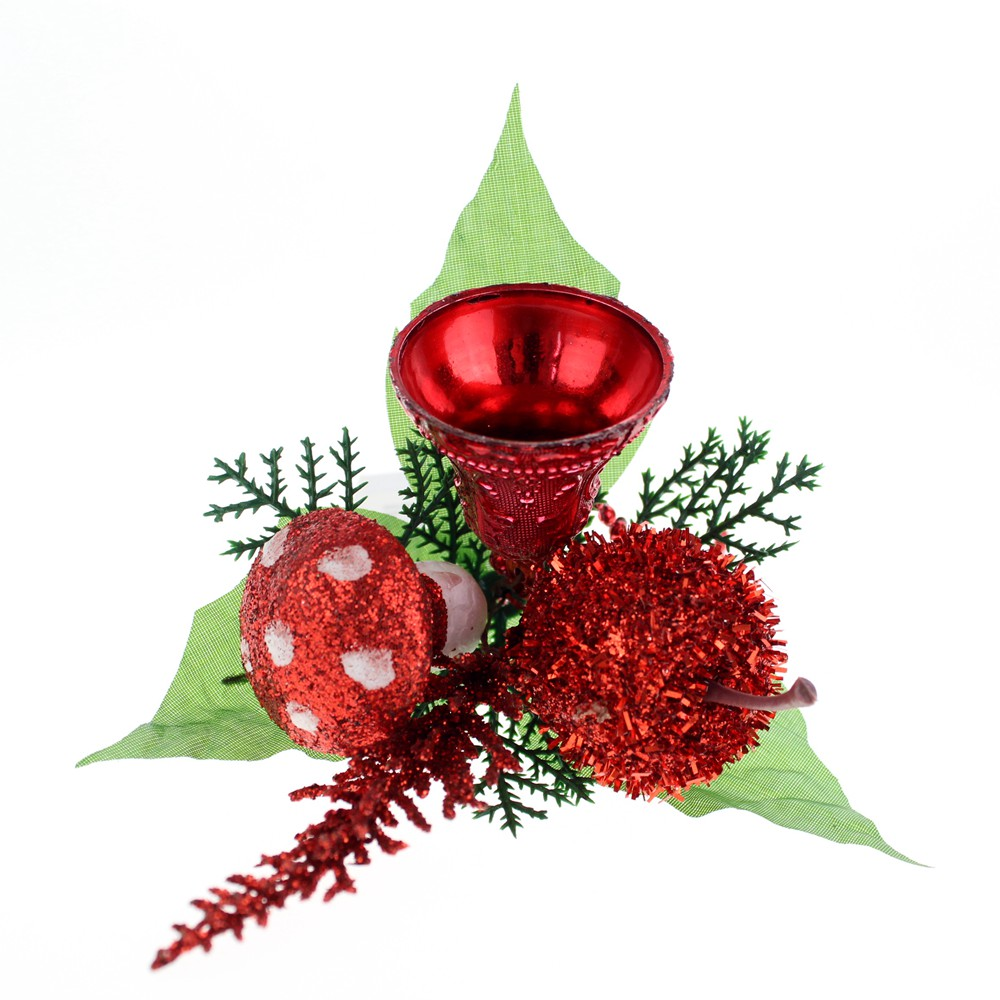 Satin Christmas Ornaments