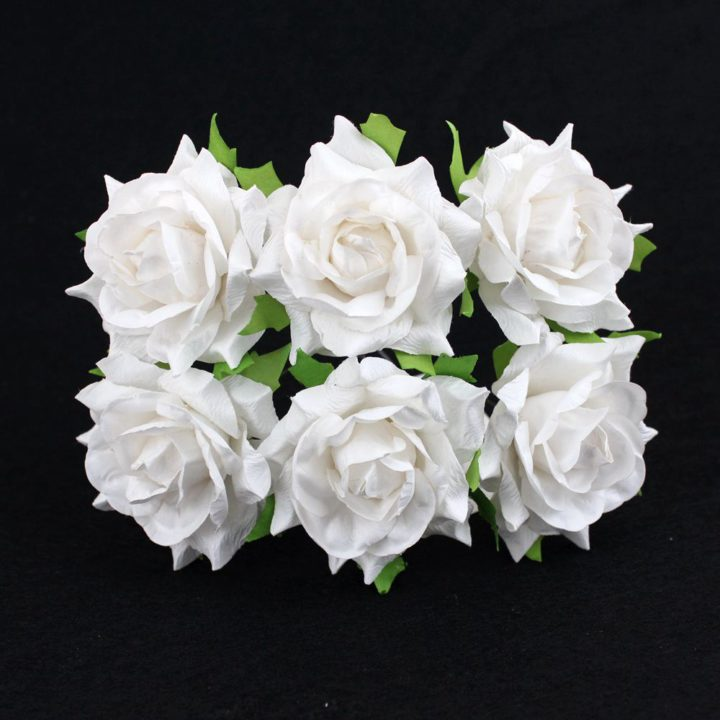 Mulberry paper flowers wholesale 6cm giant paper flowers in white wholesale 57090 mightylinksfo